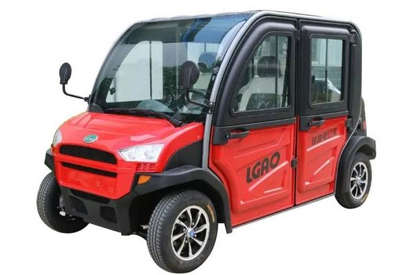 Tiny electric car for adults and independent children number 2093