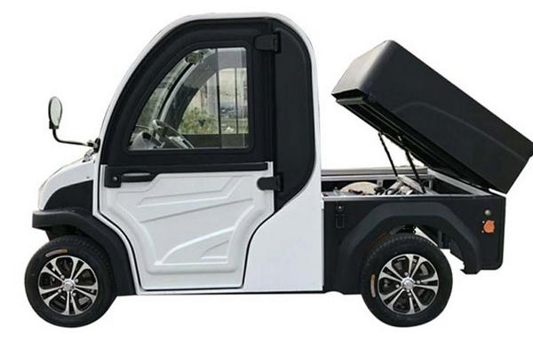 Tiny electric car for adults and independent children number 2094